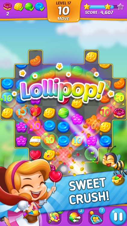 Lollipop: Sweet Taste Match3