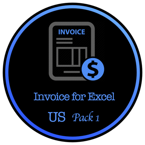 Invoice for Excel - US Letter Size