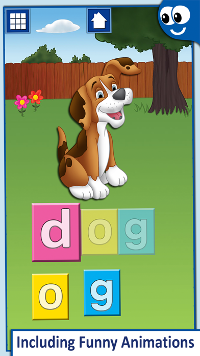 First Words for Kids and Toddlers Professional: Preschool learning reading through letter recognition and spelling screenshot four