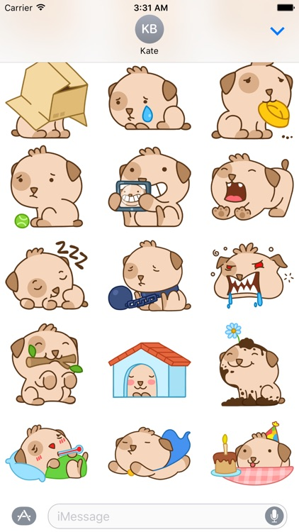 Cooper Dog - Sticker for iMessage