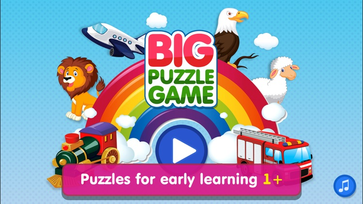 Animal Puzzle Games: Kids & Toddlers Learning Free