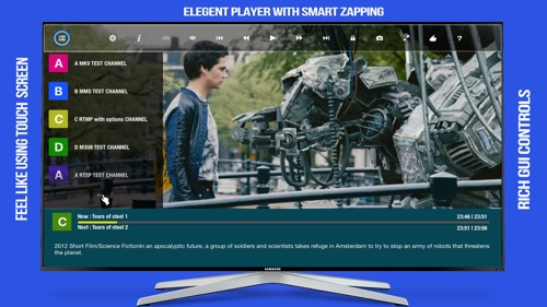 GSE SMART IPTV PRO (Home Entertainment Edition) screenshot