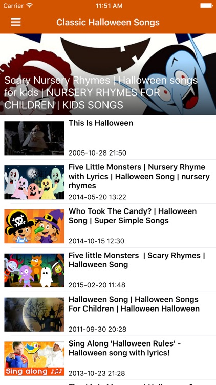 Halloween Songs & Scary Stories Pro screenshot-4