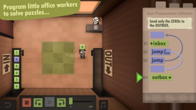 Screenshot #7 for Human Resource Machine
