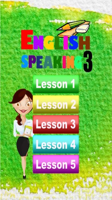 点击获取English Conversation Speaking 3