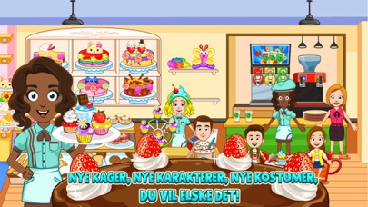 Screenshot for My Town : Bakery in Denmark App Store
