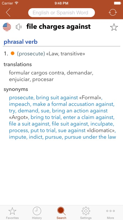 Spanish Legal Dictionary screenshot-3