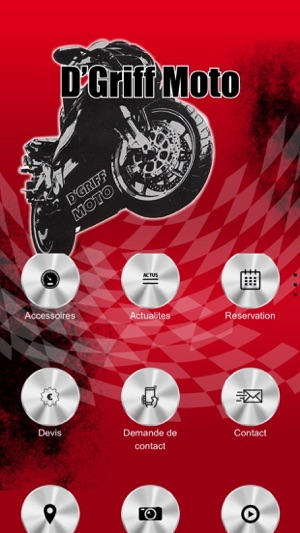 d 39 griff moto bordeaux on the app store. Black Bedroom Furniture Sets. Home Design Ideas