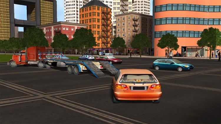 City Car Transport - Cargo Trailer Truck screenshot-3