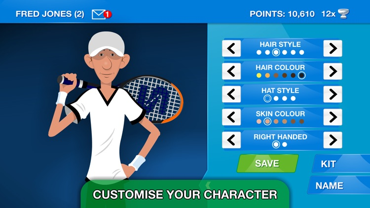 Stick Tennis Tour screenshot-3