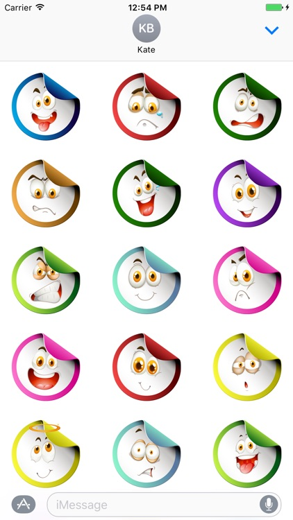 Colourful Fun Smileys