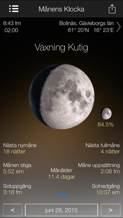 månfas kalender - fullständig på PC