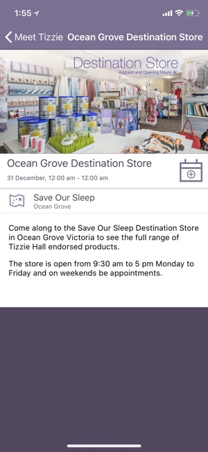 Tizzie Hall Save Our Sleep On The App Store