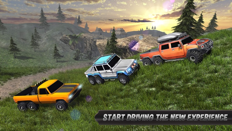 Offroad 6x6 Truck Driving 2017 - Driver Simulator screenshot-4