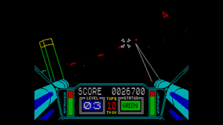 Screenshot from Spectaculator, ZX Spectrum Emulator