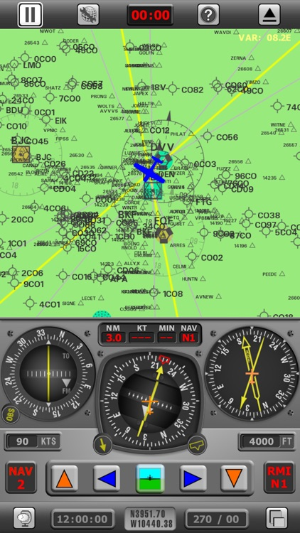 Radio Navigation Simulator USA screenshot-0