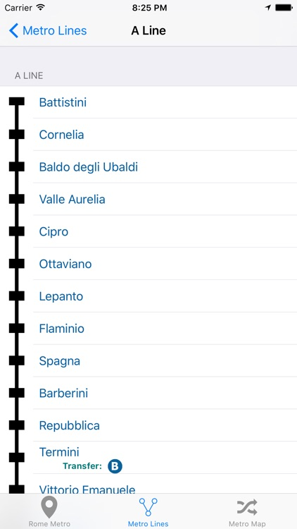 Rome iMetro screenshot-3