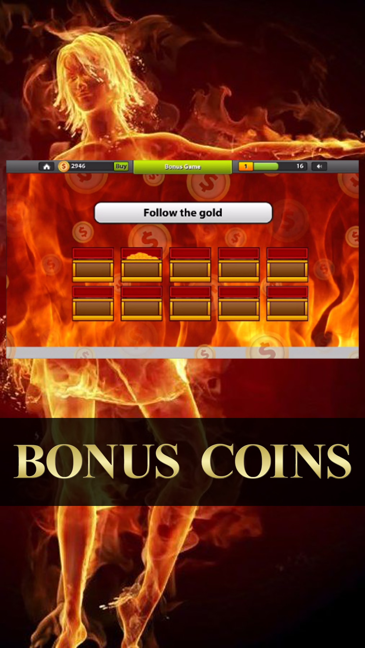 Sizzling Slots Party – Deluxe 7's Jackpot Machines Screenshot