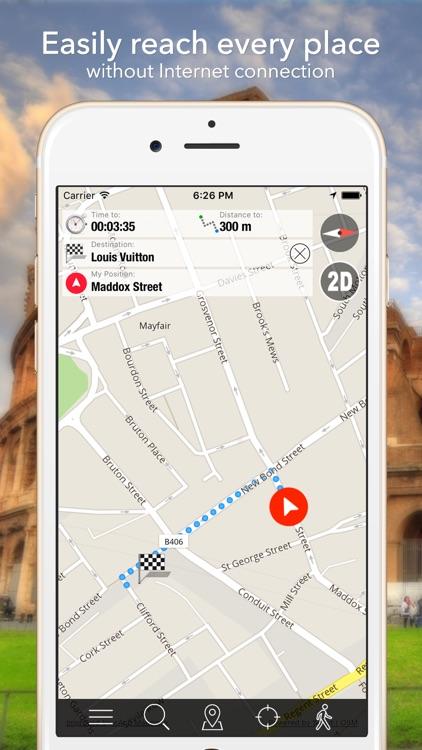 San Jose Offline Map Navigator and Guide screenshot-3