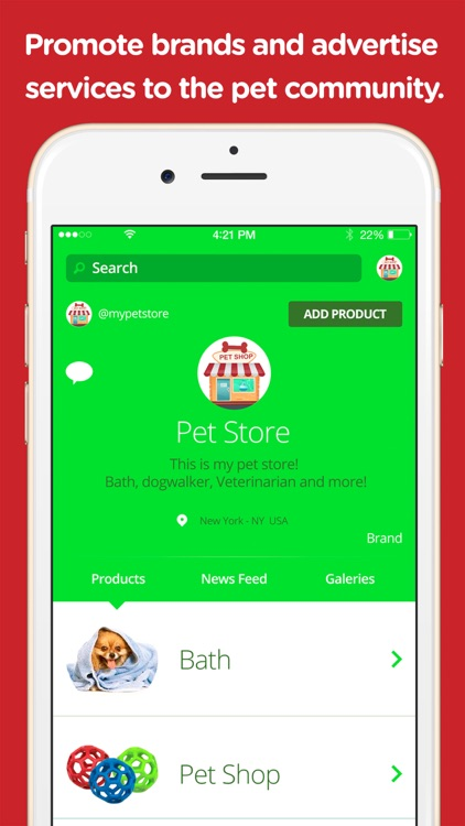 Sniff - Pet Social Media screenshot-4