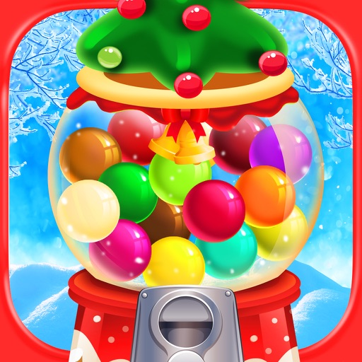 Bubble Gum Christmas - Kids Gumball Games FREE