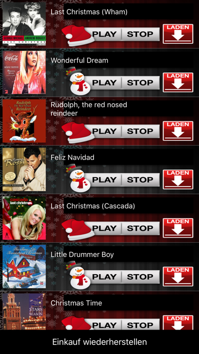 Xmas Soundboard International screenshot two
