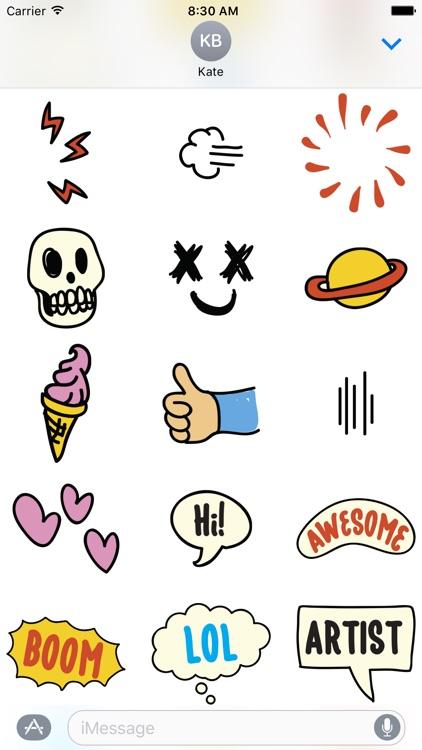Fopi Paud 55+ Stickers