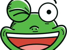 Frogtastic Sticker