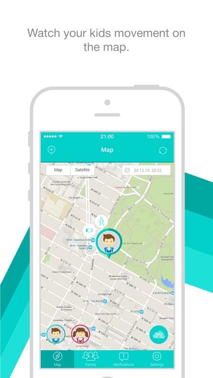 GPS Phone Locator - KidsLocation