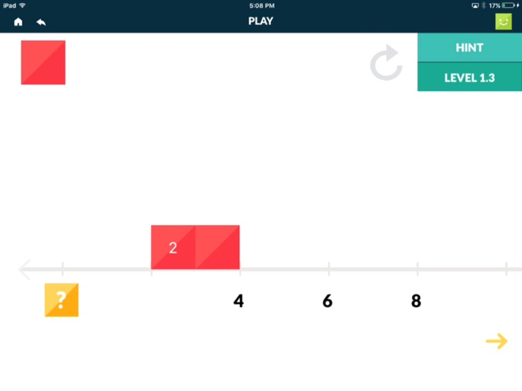 Number Line Touch: Multiplication screenshot-3