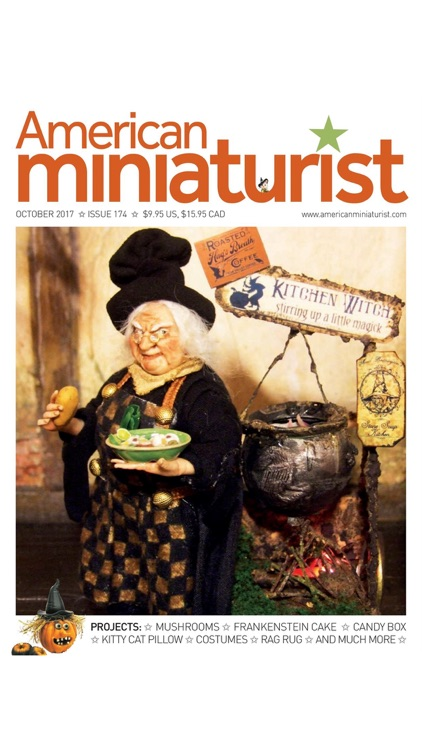 American Miniaturist: The miniaturists' magazine where little things matter screenshot-4