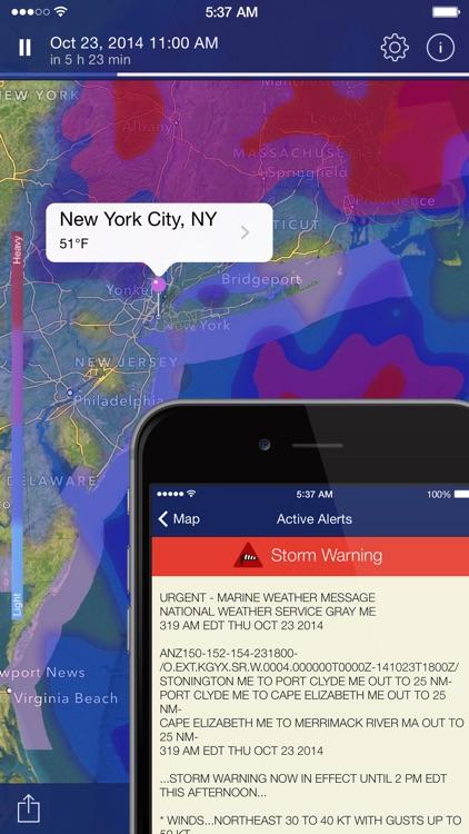 NOAA Radar Pro: Weather Alerts screenshot-4