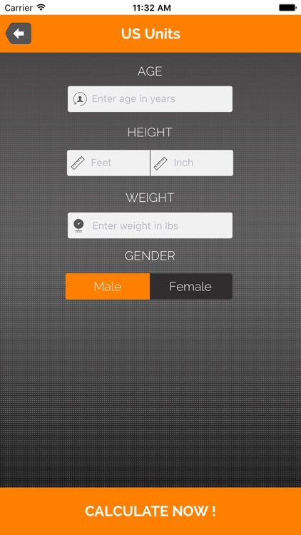 BMI Calculator - Body Fat Percentage