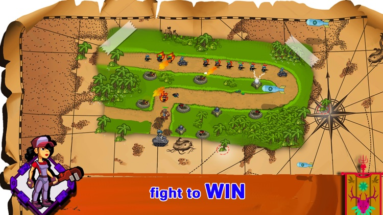 Clash Of Warriors: An Epic Tower Defense Game