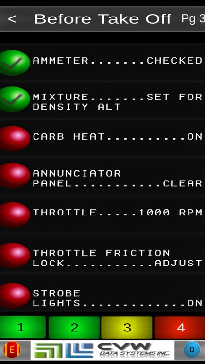 Victor's Cessna 172 Checklist screenshot-3