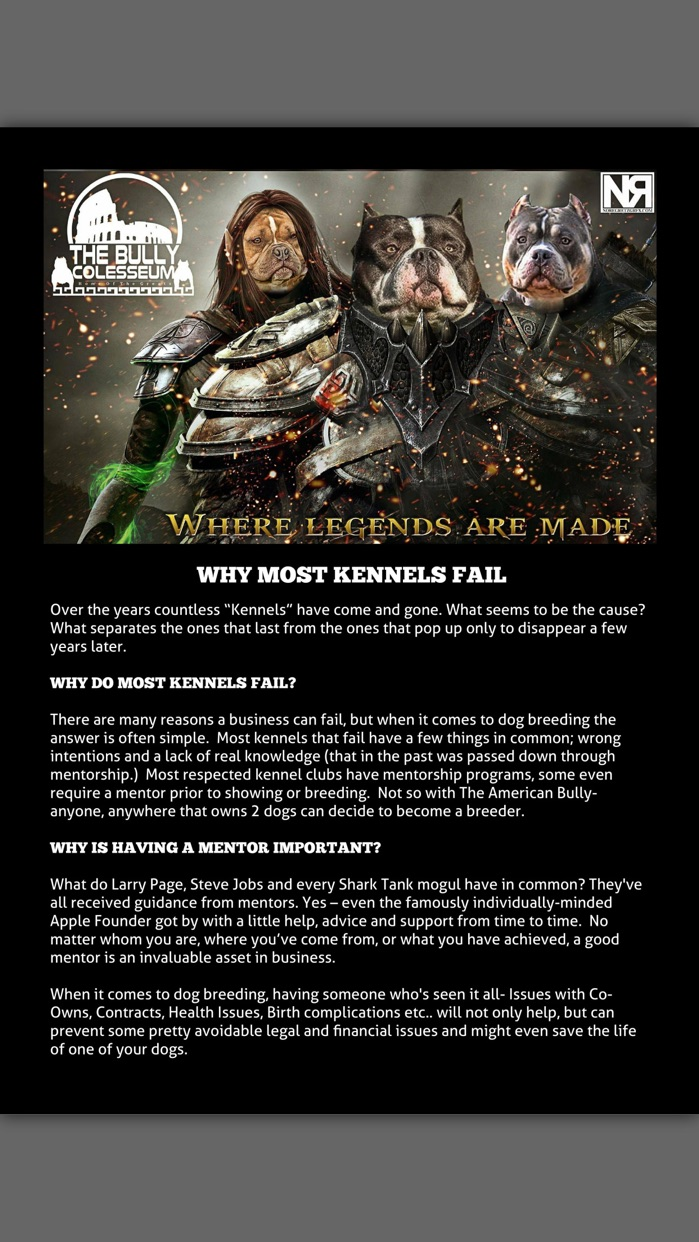 BULLY KING Magazine Screenshot