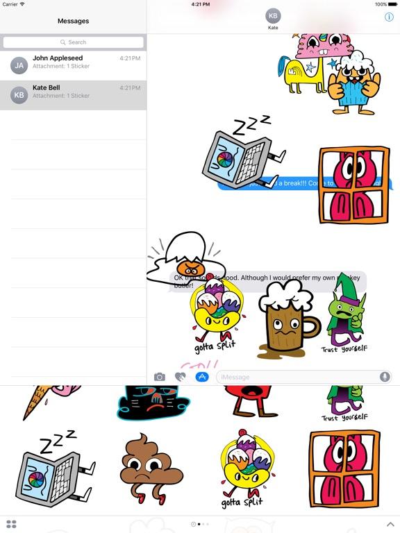 Screenshot #2 for Burgerworld stickers
