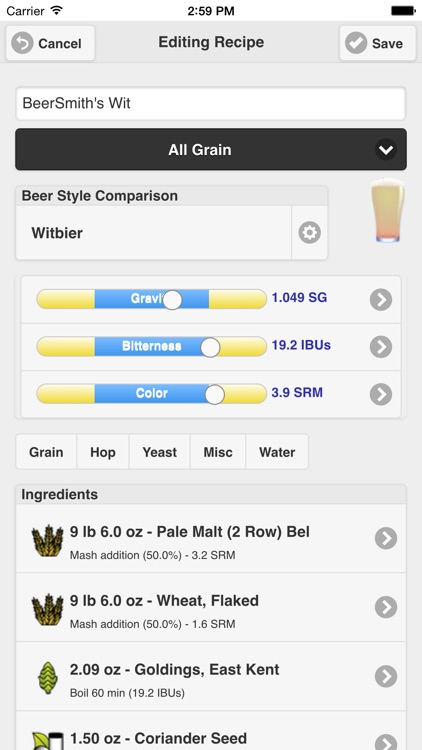 BeerSmith Mobile Home Brewing