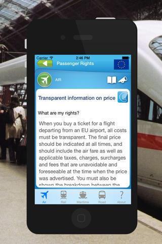Passenger rights - náhled