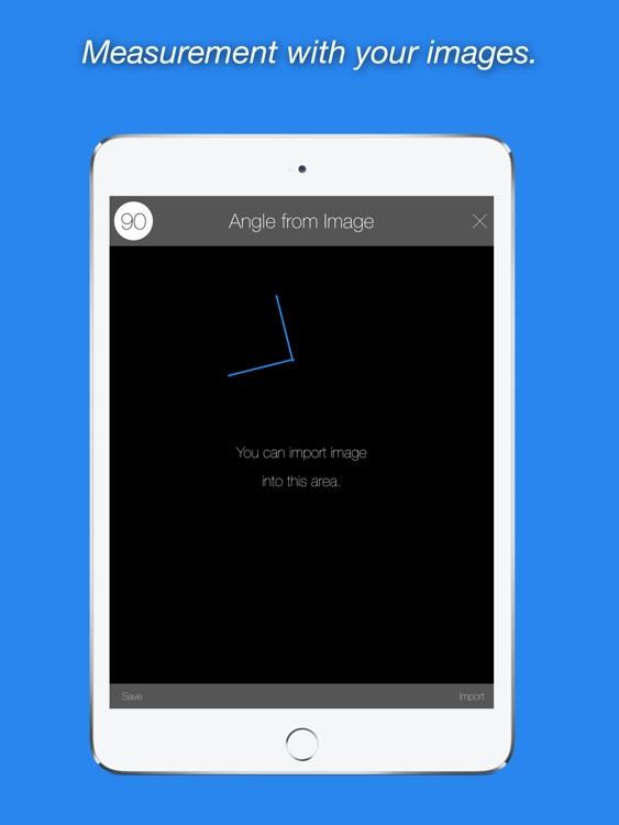Angle Meter PRO HD for iPad screenshot-3