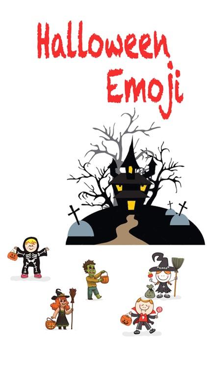 Halloween Sticker,  Emoji - Fv Pack 01