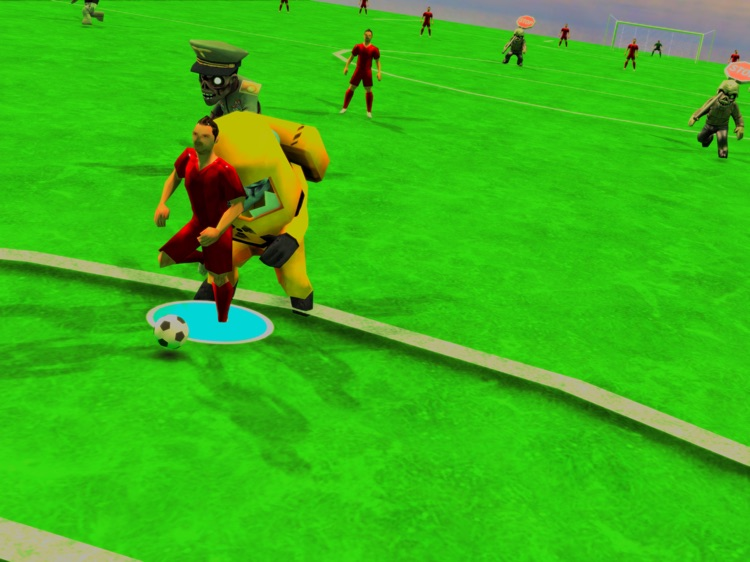 Zombie Soccer Stars! HD Lite screenshot-2