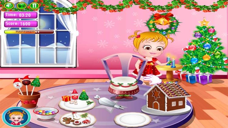 Cute Baby Christmas Fun