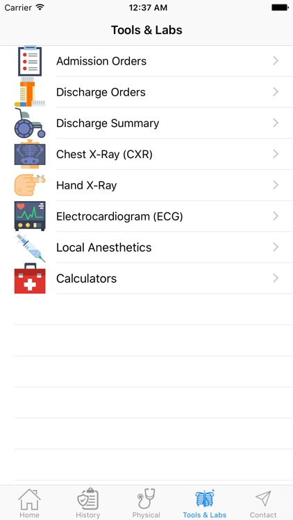 IPPA History and Physical Exam Reference screenshot-4