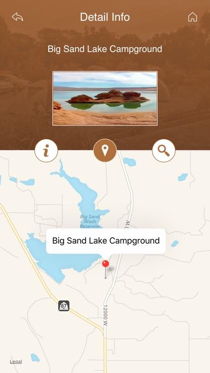 Utah Campgrounds and RV Parks screenshot-3