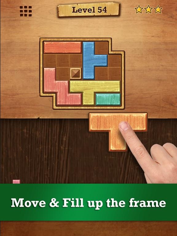 Wood Block Puzzle на iPad