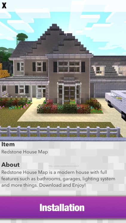 Mansion MAPS for MINECRAFT PE - Pocket Edition by Alpha Labs