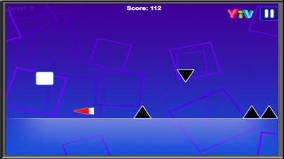 Impossible dash up Game : Square Runners screenshot one
