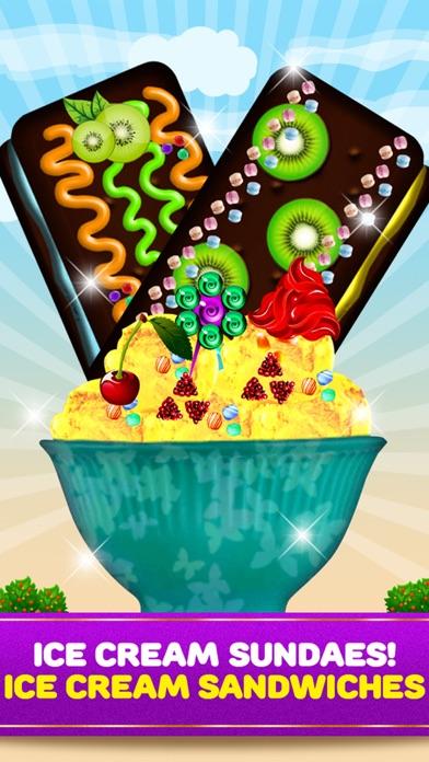 Maker Games Ice Cream Shop Cones, Sundae, Sandwiches & Pops screenshot three