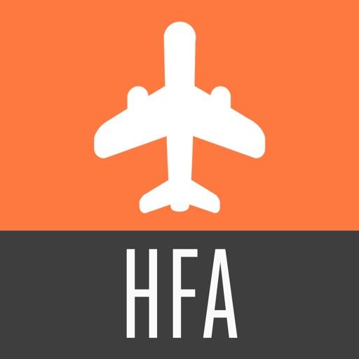 Haifa Travel Guide with Offline City Street Map